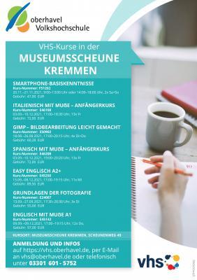 Oberhavel Volkshochschule - Kurse ab September 2021 in Kremmen