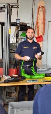 Unfallhilfe & Rettungsarbeiten an Hochvolt-Fahrzeugen