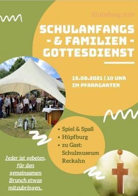Schulanfangs und Familien-Gottesdienst