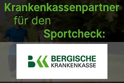 Bild der Meldung: BERGISCHE Krankenkasse und DGSP kooperieren: bis zu 300 € Erstattung für den Sportcheck