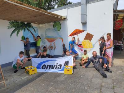 Graffiti-Workshop für Herzberger Jugend mit tollem Ergebnis