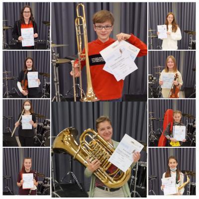 Die Musikschule Stein, ... ausgezeichnet!!!