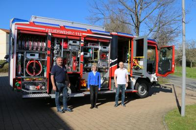 Foto zur Meldung: Neues Fahrzeug für die Freiwillige Feuerwehr Hetzles Segnung und Indienststellung am 30. Mai 2021