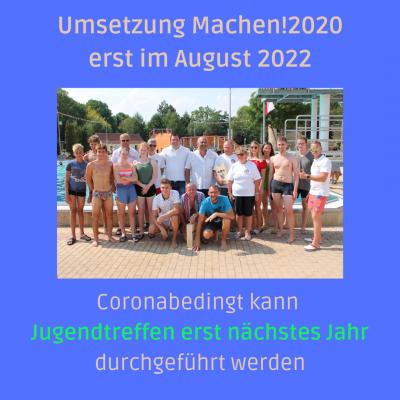 Foto zur Meldung: Umsetzung Machen!2020 erst im August 2022