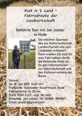Jan Juister führt in Hude