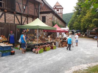 Ein voller Erfolg - der Feierabendmarkt in Wichmannshausen im August 2020