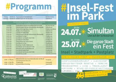 Rodewischer Insel-Fest im Park