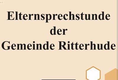 Foto zur Meldung: Elternsprechstunde der Gemeinde Ritterhude in Kooperation mit dem SOS Kinderdorf.
