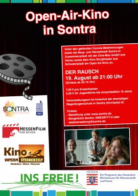 Open-Air-Kino in Sontra