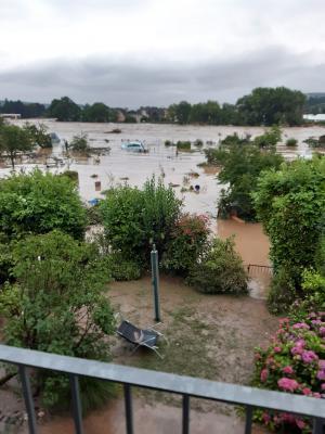 Überflutung in Ahrweiler