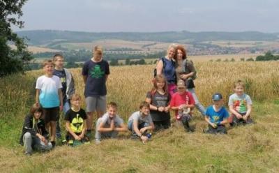 Foto zur Meldung: Sommerabschluss der Montags-Spiel + Spass-Gruppe