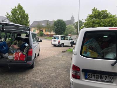 Lauderter Bürger spenden für die Hochwasseropfer