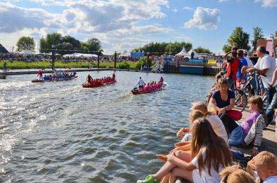 Auch das beliebte Drachenbootrennen soll wieder stattfinden I Foto: Gerhard Baack