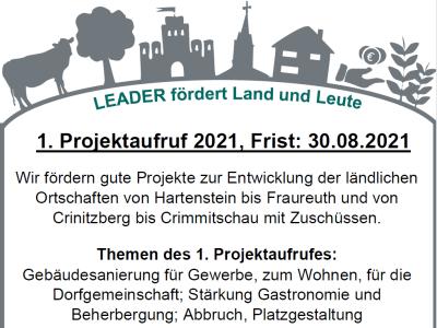 LEADER-Region: Projektaufruf