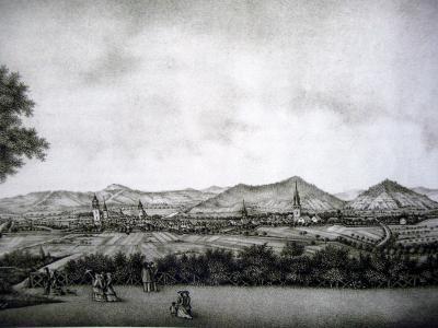 Ansicht Eschwege 1884