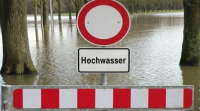 Hochwasser in Erftstadt - Stadtteil Bliesheim