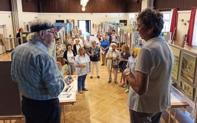 Foto zur Meldung: Kleiner Holzwickeder Malermarkt