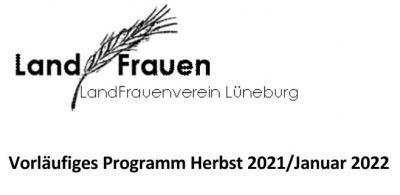 Vorläufiges Programm / LFV Lüneburg