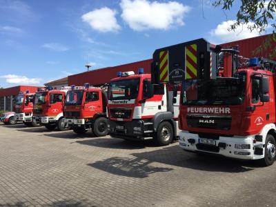 Die jetzt bewilligten Mittel sollen unter anderem in der Wache der Feuerwehr Wittenberge eingesetzt werden I Foto: Norman Rauth