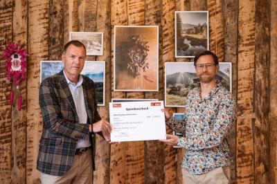 Spendenübergabe: Hochschwarzwald Tourismus GmbH unterstützt den Skisportnachwuchs in der Region