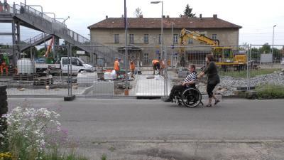 Foto zur Meldung: Bahnhof Lauchhammer muss barrierefrei werden!