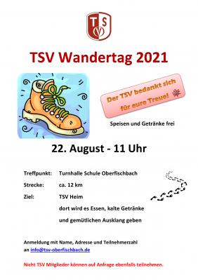TSV Wandertag