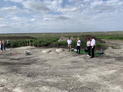 Grundstein für neues Wohngebiet in Großrudestedt gelegt