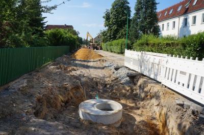Baustelle Mühlenstraße