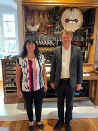 Bürgermeisterin aus der Partnerstadt zu Gast in Beeskow