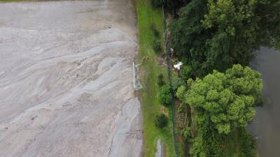Spendenkonto für die Hochwasserschäden auf dem Sportplatz