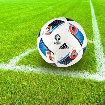 Foto zur Meldung: Fußball Spielbeginn