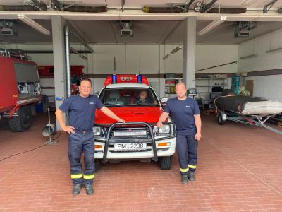 Land Brandenburg entsendet Katastrophenschutzeinheiten in Hochwassergebiete