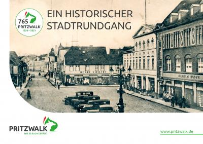 """Die kleine Broschüre """"Ein Historischer Stadtrundgang"""" kann im Rathaus abgeholt werden. Repro: Beate Vogel"""