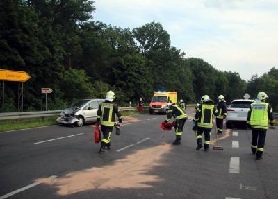 Foto zu Meldung: Unfall mit Verletzten