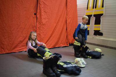 Spiel und Spaß bei der Feuerwehr Hörstel