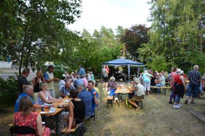 Auch das diesjährige Sommerfest in Lindenberg war gut besucht I Foto: Martin Ferch