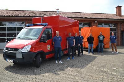 10 Kameraden der Feuerwehr Bippen erhalten den Feuerwehrführerschein