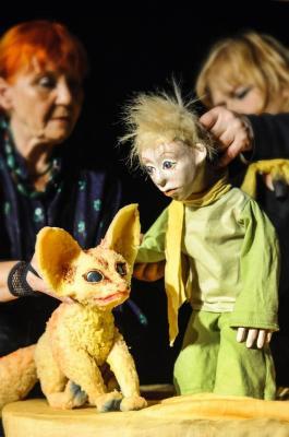 """Märchen-Sonntag - 1. August, 11 Uhr: """"Kleiner Prinz"""" - Ein Puppenspiel nach der Geschichte von Antoine de Saint-Exupéry"""
