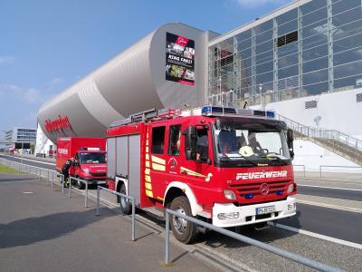 Foto zur Meldung: Die Brücker Feuerwehren beim Hochwasser-Hilfeeinsatz in Rheinland-Pfalz
