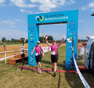 Foto zur Meldung: 18. Scheunenhof-Triathlon: Gute Platzierungen für die Triathleten des MTV Förste