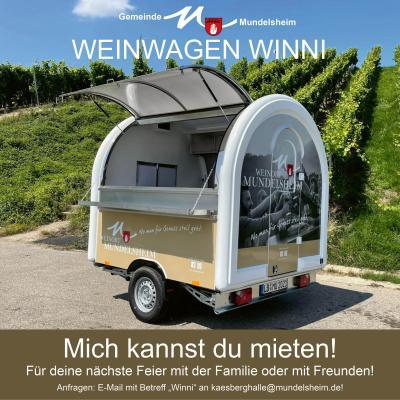 Weinwagen Winni