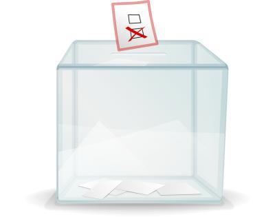 Bild Wahlurne