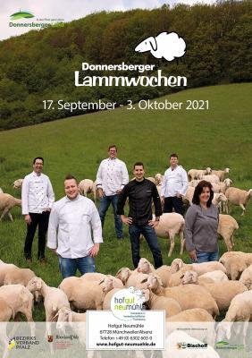 Plakat zu den Donenrsberger Lammwochen 2021