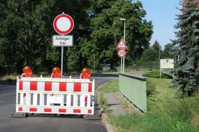 Foto zur Meldung: Ausbau L54: Einschränkungen im Ortsteil Saßleben