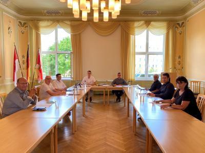 Sitzung des Kreiswahlausschusses des Wahlkreises 65