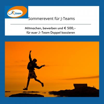 Foto zur Meldung: J-Team Doppel - Sommerevent 2021