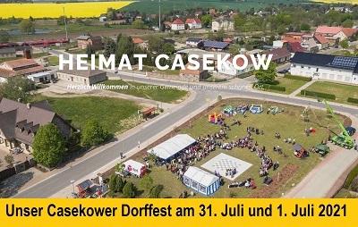 Dorffest in Casekow