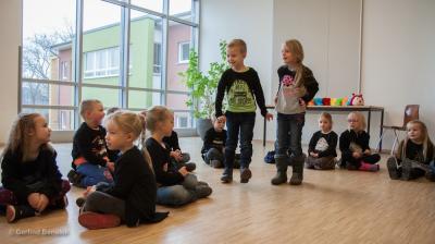 Auftritt der MFE-Kinder in Lübz. Foto: Gerlind Bensler