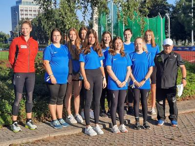 Foto zur Meldung: Laager Läufer engagiert bei Deutschen Meisterschaften