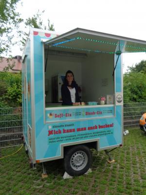 Foto zu Meldung: Das Eismobil war da!